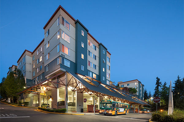 The Village at Overlake Station in Redmond