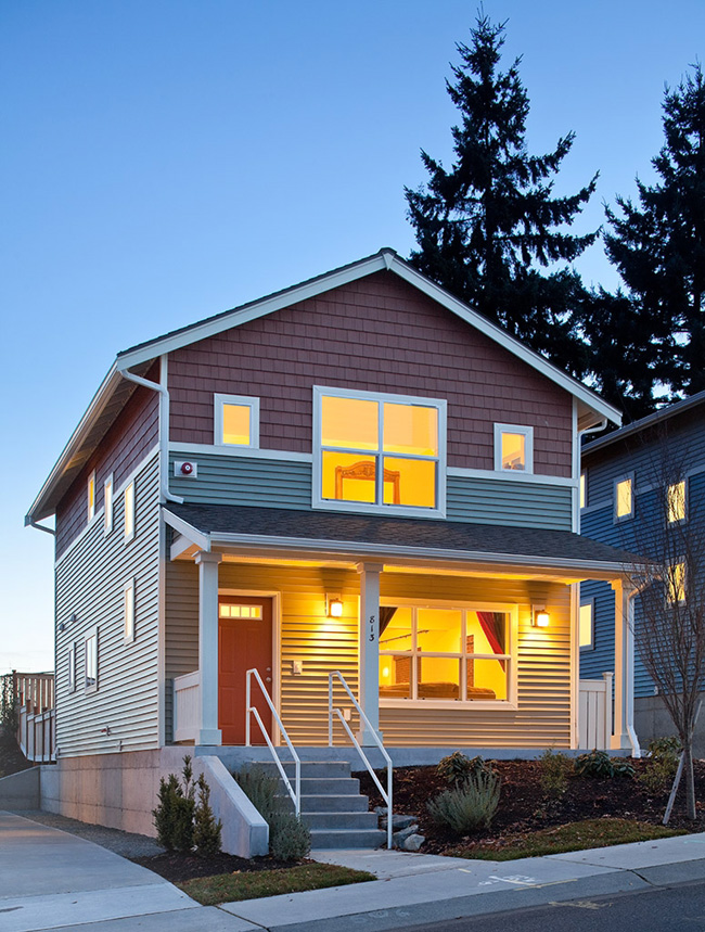 King County Housing Authority and HomeSight break ground on eight affordably priced homes at Greenbridge
