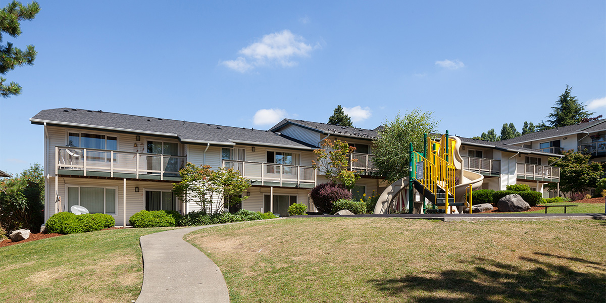 Subsidized housing at Kings Court in Federal Way