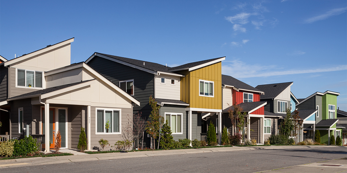 Mixed-income rental housing at Greenbridge in White Center