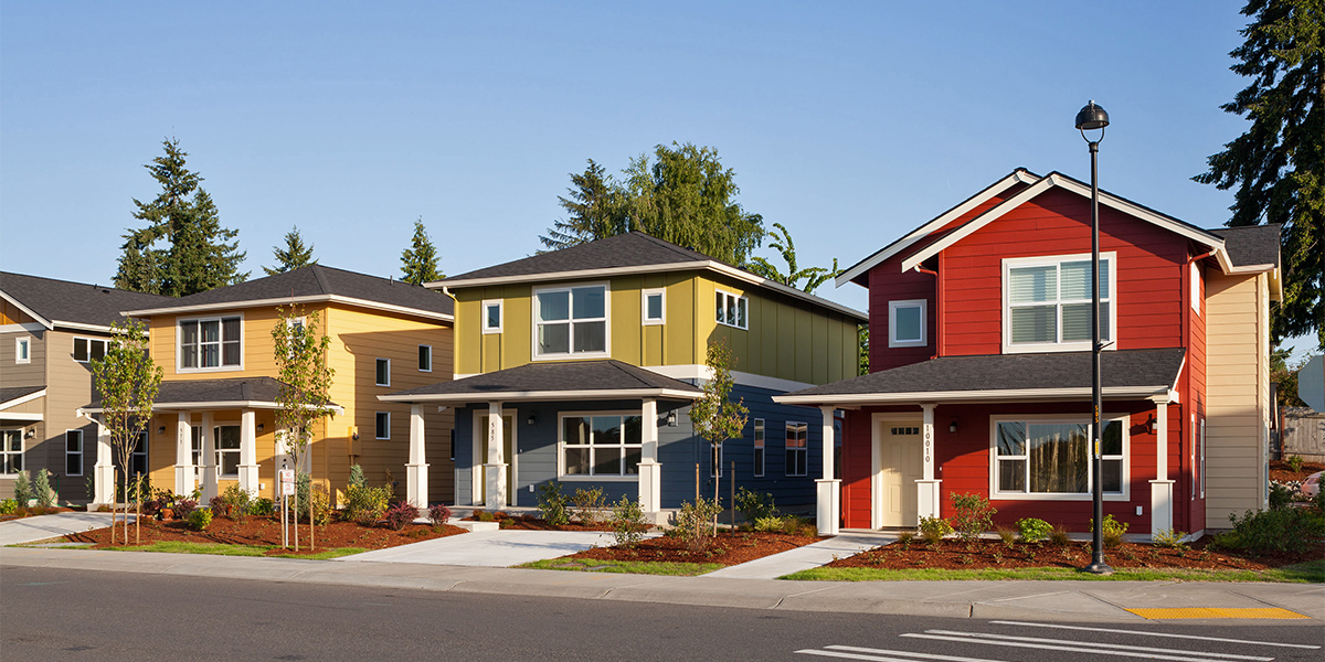 Affordable for-sale housing at Greenbridge in White Center